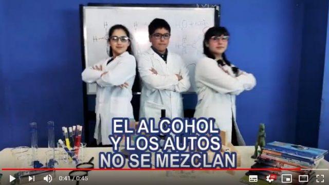 """Premiación del concurso de spots en el marco de la semana de """"Una Noche Sin Alcohol"""""""
