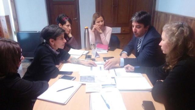 Reunión de trabajo con la Secretaría de Turismo.