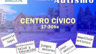 """Hoy, """"Bariloche habla de Autismo y se viste de azul"""""""