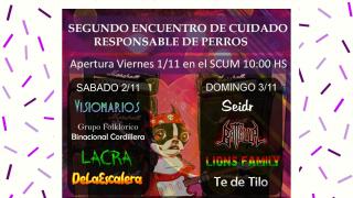 """La Defensoría del Pueblo de Bariloche participará del """"Segundo Encuentro de Cuidado Responsable de perros"""""""