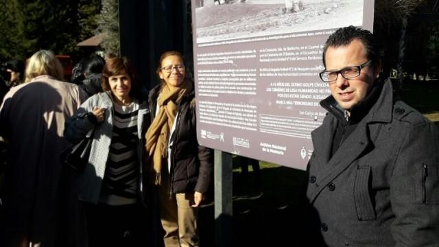 Defensora participó de la señalización del primer centro clandestino de detención de Bariloche