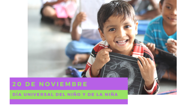 [20 de noviembre] Día Universal del Niño y de la Niña