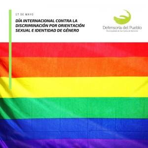 Día Internacional contra la Discriminación por Orientación Sexual e Identidad de Género