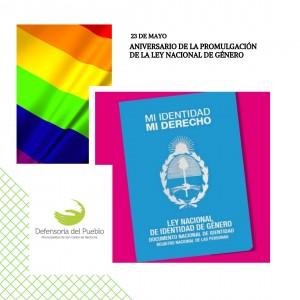 Aniversario de la Promulgación de la Ley de Identidad de Género