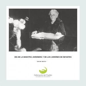 Día de la Maestra Jardinera y de los Jardínes de Infantes