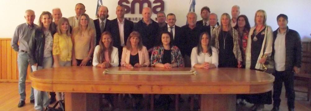 Inicio del III Plenario de la ADPRA en San Martín de Los Andes