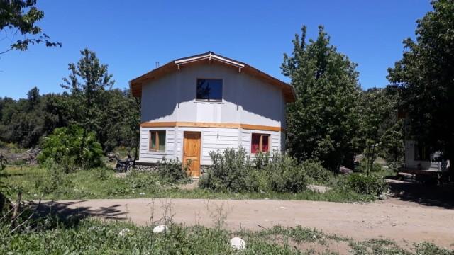 """Una de las viviendas construídas por el Clúster """"La Fábrica"""""""