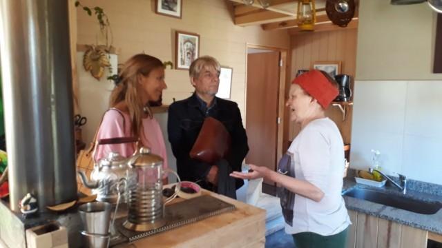 El Plenario de ADPRA visitó el Clúster de Viviendas de Producción Social del Hábitat de los Vecinos sin Techo