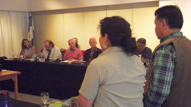 El III Plenario de ADPRA recibió la visita del Lonko Ariel Epulef