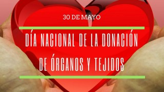 [Efemérides - 30 de mayo] Día Nacional de la Donación de Órganos y Tejidos