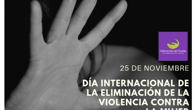 [25 de noviembre] Día Internacional de la Eliminación de la Violencia contra la Mujer