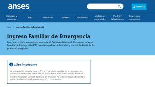 Coronavirus   Ingreso Familiar de Emergencia: Cronograma de preinscripción para cobrar los 10 mil pesos