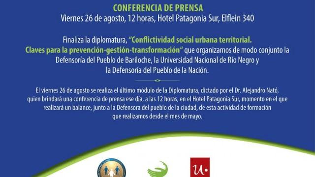Conferencia de Prensa del Dr. Nató