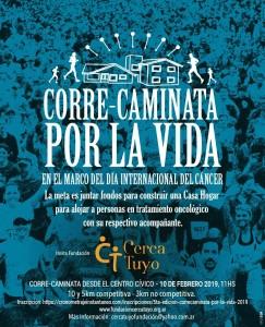 """Afiche difundido por la Fundación """"Cerca Tuyo"""""""