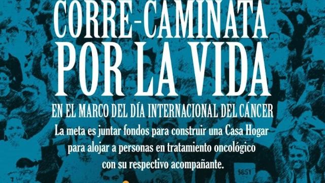 """En el marco del Día Internacional del Cáncer, """"Corre - Camina por la Vida"""""""