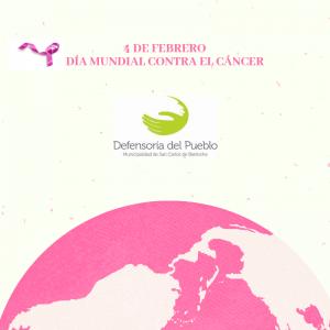 El 4 de febrero se conmemora el Día Mundial del Cáncer