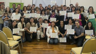 Diplomatura 2016: Entrega de certificados