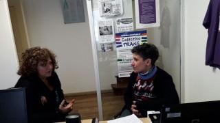 Encuentro en la sede de la Defensoría del Pueblo de Bariloche.