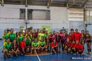 """Equipos participantes del V Torneo Amistoso de Fútbol """"Día de la Mujer Trabajadora"""""""