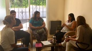 Defensora se reunió con el grupo Alas de Amor