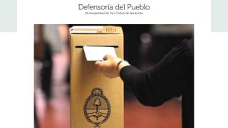 Elecciones 2019 | La Defensoría del Pueblo de Bariloche llevará a cabo guardia y visitas a escuelas para monitorear el proceso electoral