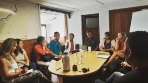 La Defensora del Pueblo de Bariloche, Dra. Beatriz Oñate, articuló reunión ante la falta de agua potable en los Barrios del Este