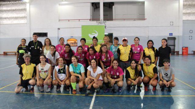 Se jugó el VI Torneo Amistoso de Fútbol «Día de la Mujer Trabajadora»