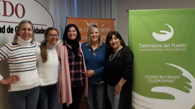 27/06/2018 - ENCUENTRO CON MIEMBROS DE LA COMUNIDAD EDUCATIVA PARA LA IMPLEMENTACIÓN DE LA MEDIACIÓN ESCOLAR