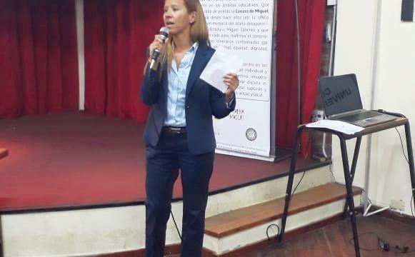La Defensora del Pueblo de Bariloche participó del acto de los Derechos Humanos