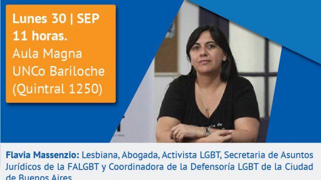 """Charla sobre """"Historia del Colectivo LGBT+ en la Argentina. Cambios en el nuevo paradigma social/cultural actual"""""""