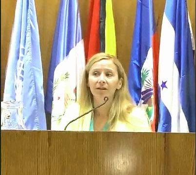 La Defensora del Pueblo de Bariloche disertó en evento paralelo de la XIV Conferencia Regional sobre la Mujer de América Latina y el Caribe