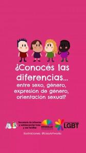 ¿Cónoces las diferencias? ¡Aprendamos juntos!