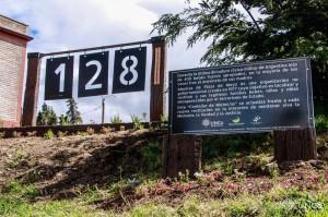 Contador de Niestos recuperados emplazado en UNCO Bariloche (Fuente Prensa UNCO) .