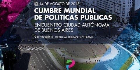 LA DEFENSORA DEL PUEBLO DE BARILOCHE ASISTIÓ AL ENCUENTRO DE LA CUMBRE MUNDIAL DE POLÍTICAS PÚBLICAS