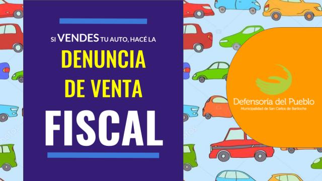 DENUNCIA DE VENTA FISCAL