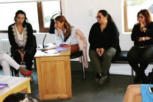 La Defensora del Pueblo de Bariloche, Dra. Beatriz Oñate, participó de la Jornada (Fuente de la fotografía Prensa Ministerio Público Fiscal)