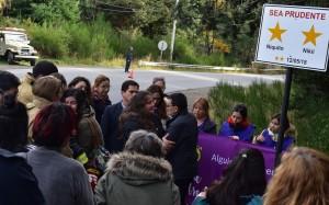 Con estrellas amarillas Bariloche recordó a Nico y Nicole en el aniversario del accidente (Fuente Prensa del Concejo Deliberante Bariloche)