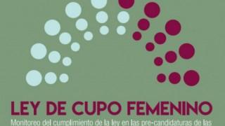 PASO 2017: solo el 3% de las listas incumple la Ley de Cupo Femenino