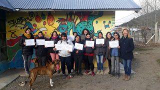 La Defensoría del Pueblo de Bariloche brindó taller sobre Mediación Comunitaria a mujeres que integran el Grupo Briquetas Patagónicas