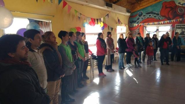 Defensoría del Pueblo participó de los festejos  en el aniversario del barrio Nahuel Hué