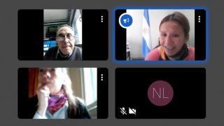 [Reunión virtual] La Defensoría del Pueblo de Bariloche y la OMIDUC coordinan trabajo colaborativo frente a temáticas comunes