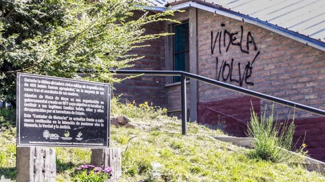 La Defensoría del Pueblo de Bariloche repudia las pintadas en la Universidad Nacional del Comahue - CRUB