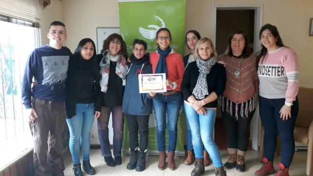 """La Defensoría del Pueblo de Bariloche recibió el reconocimiento """"Orgullo Ciudadano"""""""