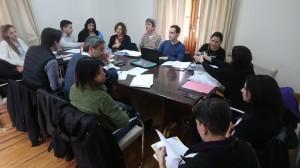 Reunión que se desarrolló el viernes 7 de junio de 2019