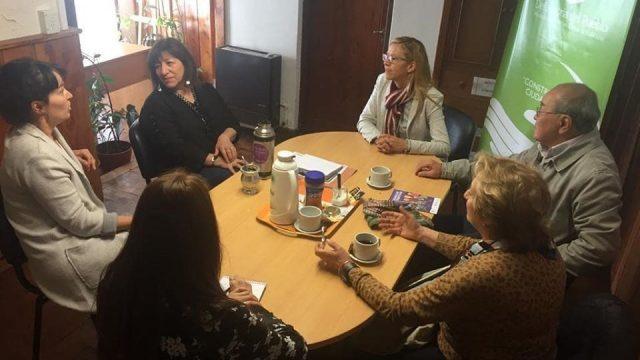 Reunión con el Grupo de Allegados de Personas con Enfermedades Mentales