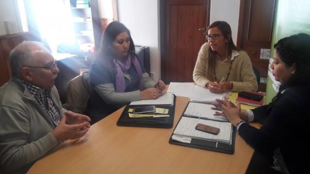 Defensora del Pueblo Bariloche se reunió con Secretaría de Niñez y Adolescencia y otras autoridades