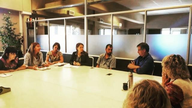Los integrantes del Comité Municipal contra la Tortura se reunieron con el Procurador General de Río Negro
