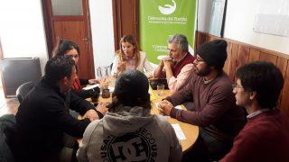 Reunión para trabajar en mejoras en la luminaria y las condiciones de seguridad en los barrios Lomas del Cauquén y Villa Lago Gutiérrez