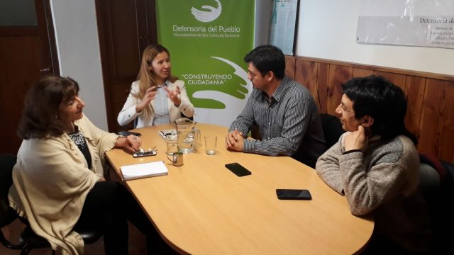 Planifican trabajo interinstitucional entre la Defensoría del Pueblo de Bariloche y la Subsecretaria de Participación Comunitaria de Río Negro