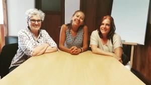 """La Defensora del Pueblo de Bariloche, Dra. Beatriz Oñate, se reunió con referentes de la Fundación """"Cerca - Tuyo"""""""